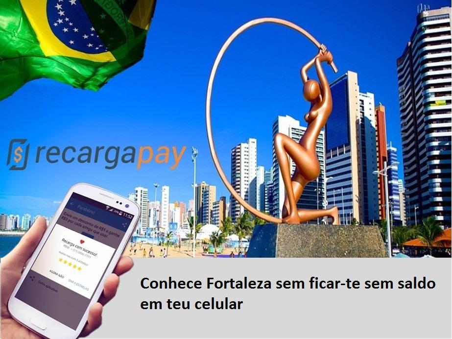 Utiliza Recragapay para recarregar em Fortaleza