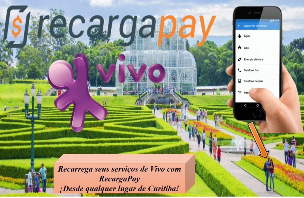 Recarrega em Jardim botánico Curitiba com RecargaPay