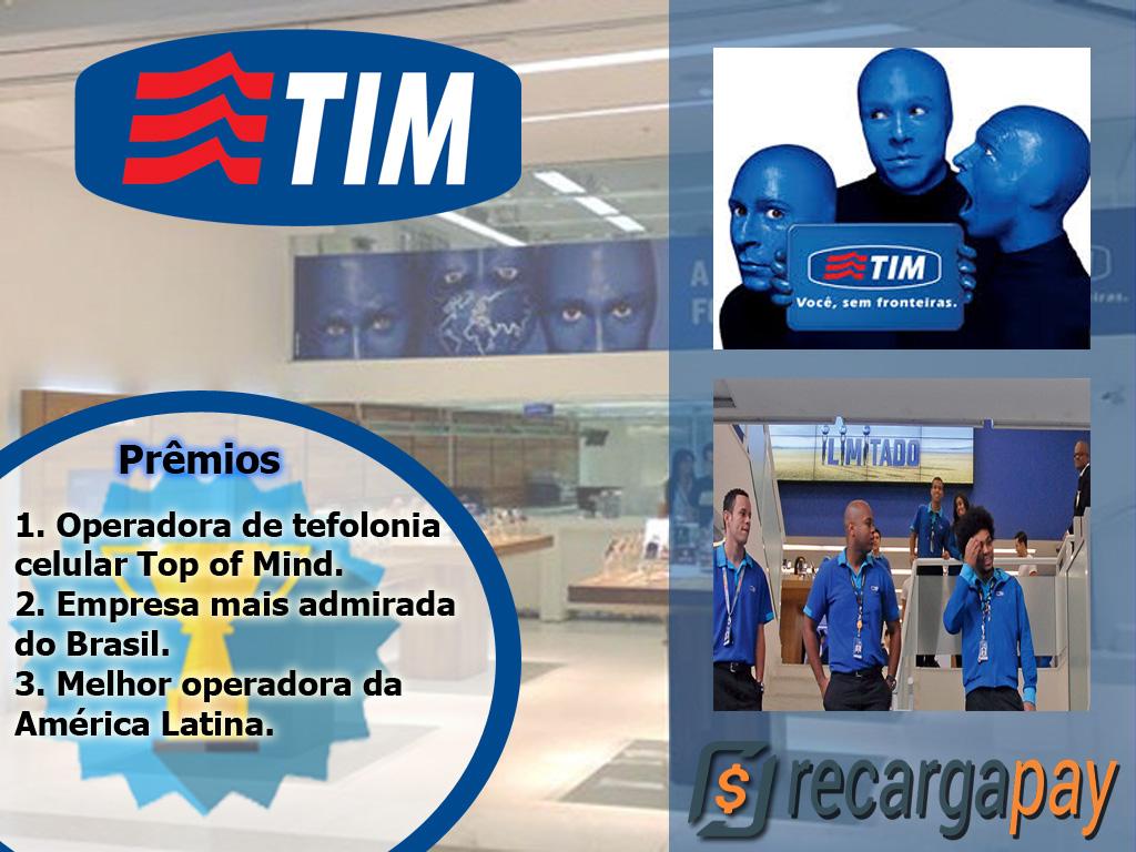 A empresa TIM e o seu compromiso com seus clientes