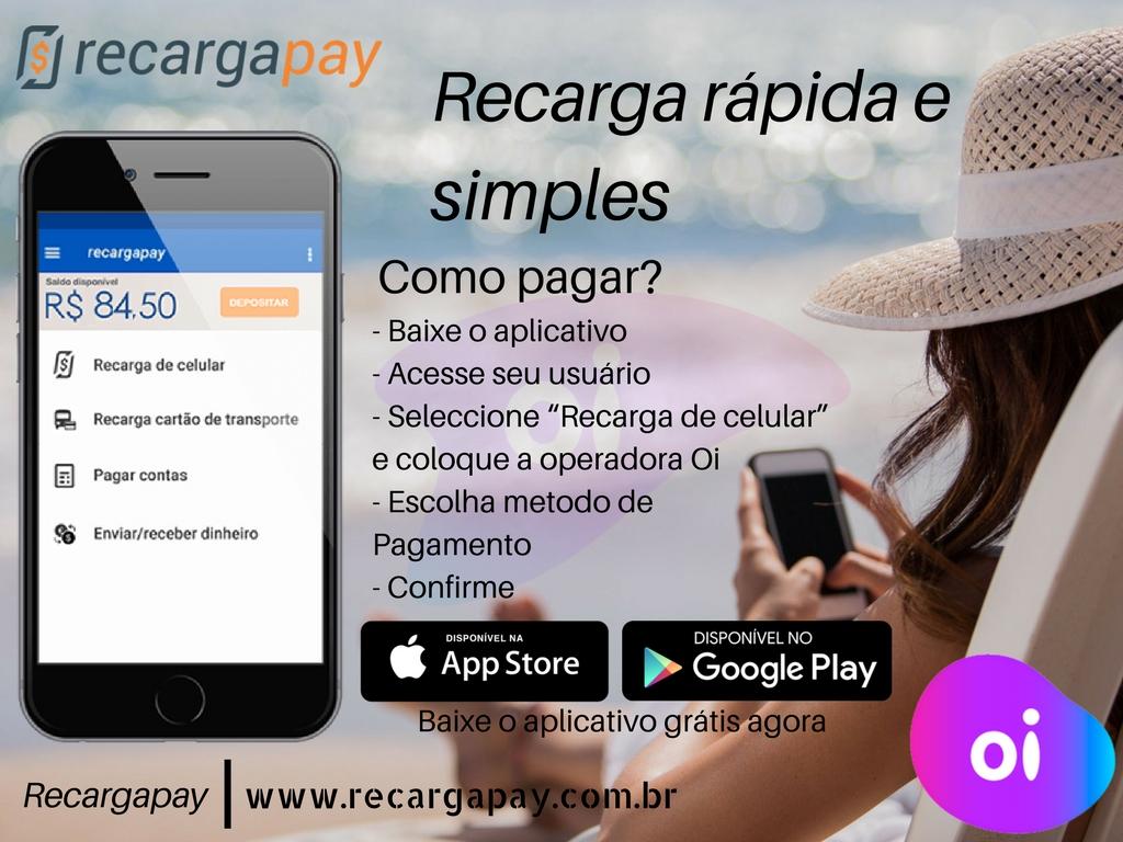 Recarga teu saldo com nossa app e faz tua vida mais facil