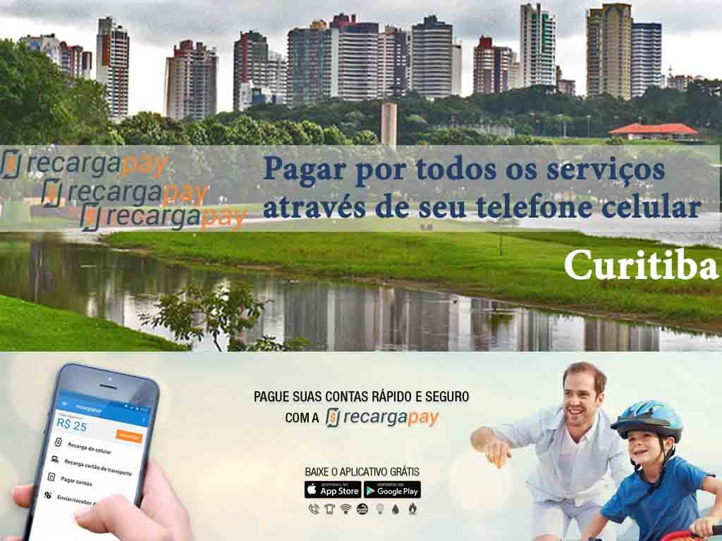 Paga suas contas com seu celular em Curitiba