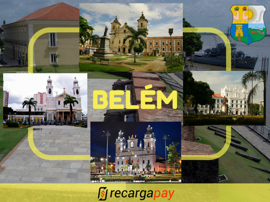 Visita a cidade de Belém