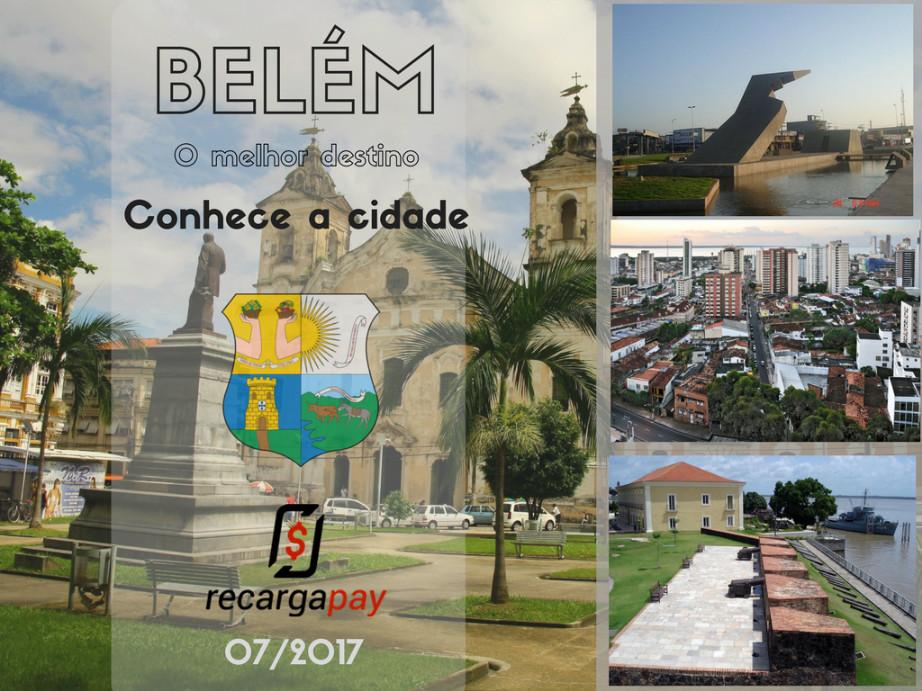 Conhece a cidade de Belém