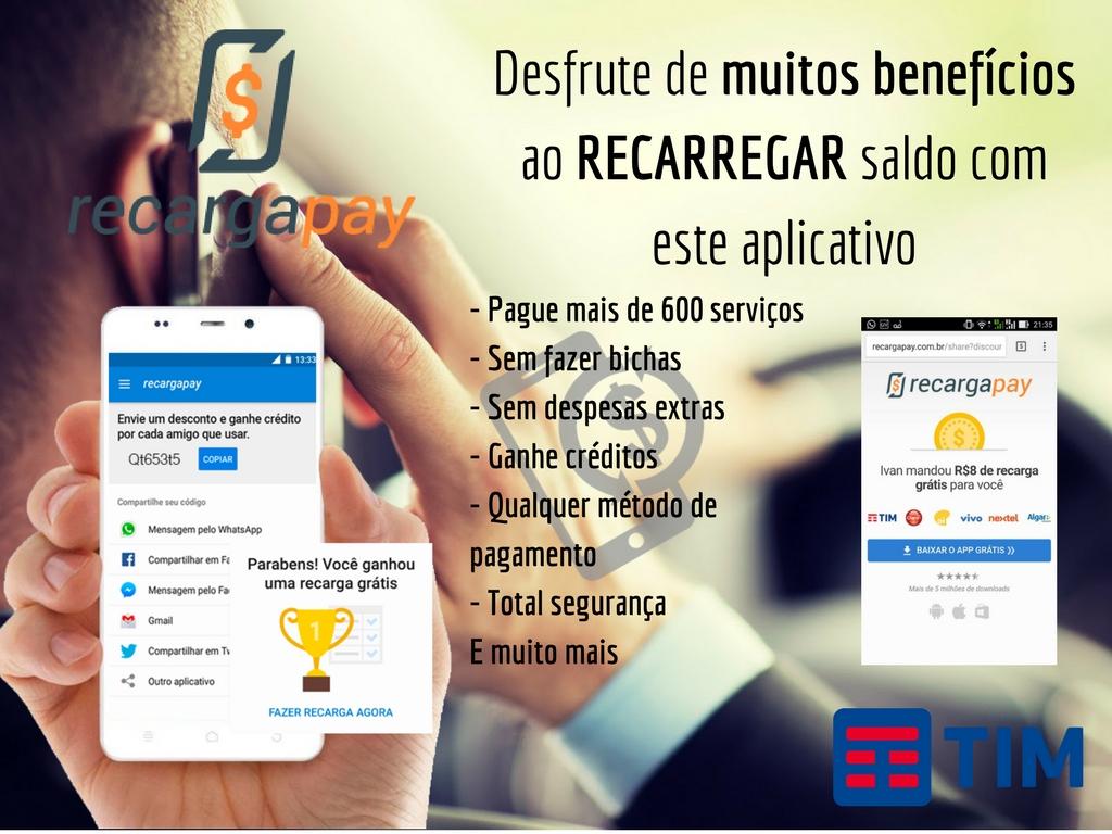 Desfrute de multos benefícios com Recargapay