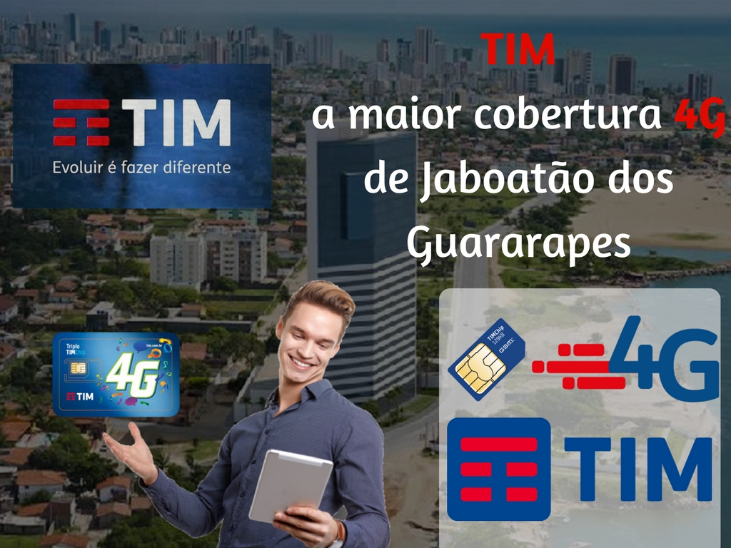 Recarregue seu saldo Tim em Jaboatão