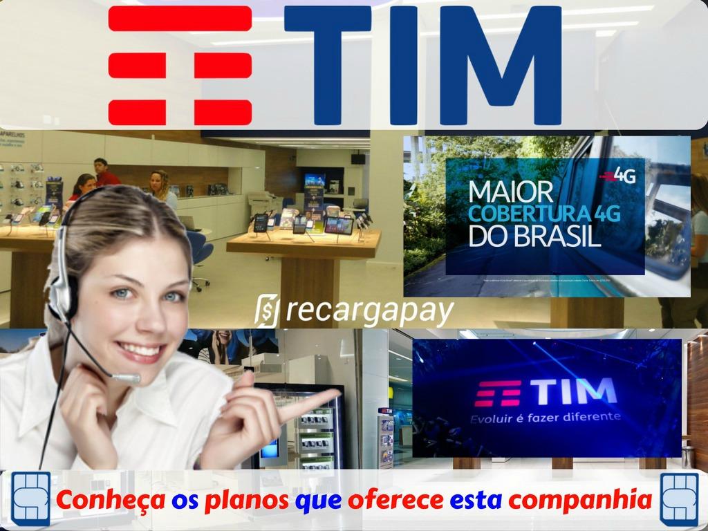 Conheça os incríveis planos da operadora Tim