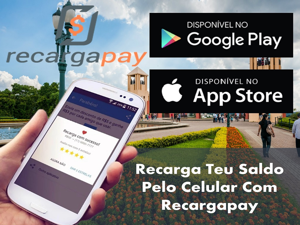 Utiliza esta nova app para recarregar teu crédito em Curitiba