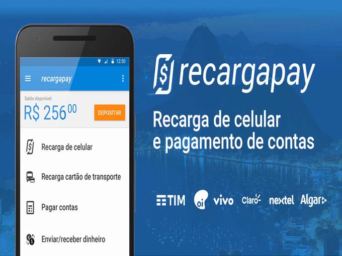 Faz tua recarga do saldo pelo celular descarregando RecargaPay