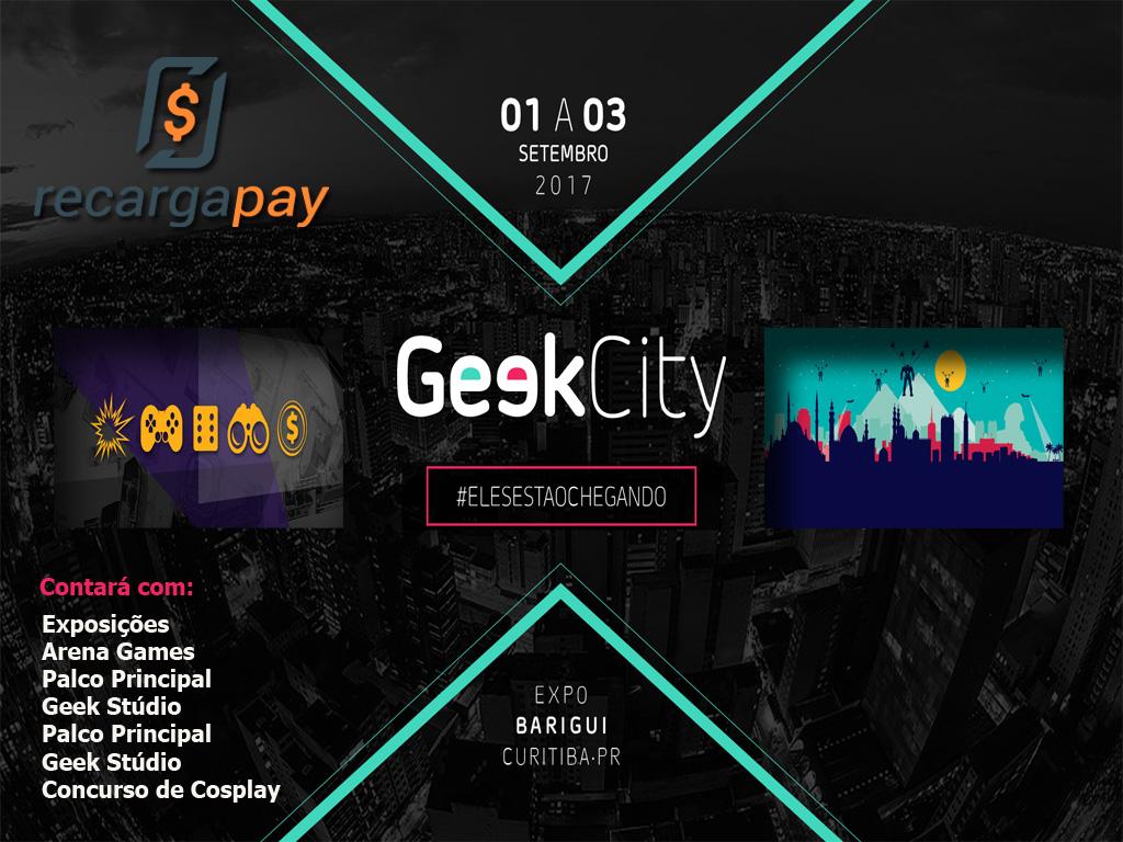 Chega o evento de Geek City em Curitiba