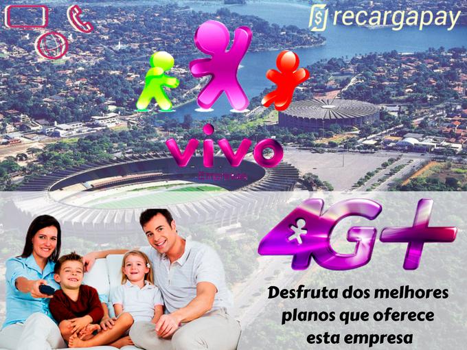 Desfruta dos melhores planos que oferece Vivo em Belo Horizonte