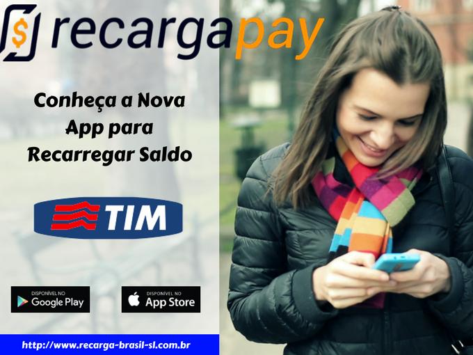 Nova app para recarregar saldo Tim em Belo Horizonte