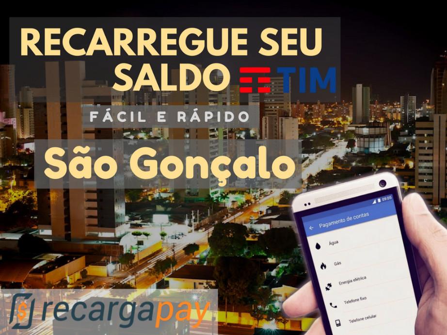 Recarregue seu saldo TIM fácil e rápido em a cidade de Sao Goncalo