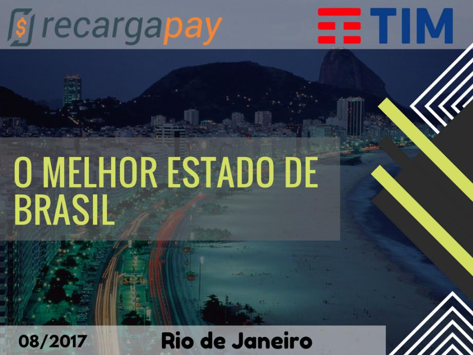 Conhece o melhor estado de Brasil