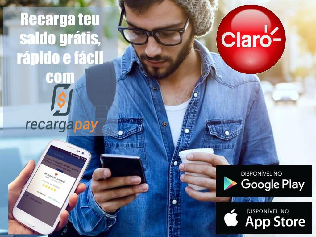 Descarga em teu celular nosso aplicativo para recarregar teu saldo fácil e em segundos