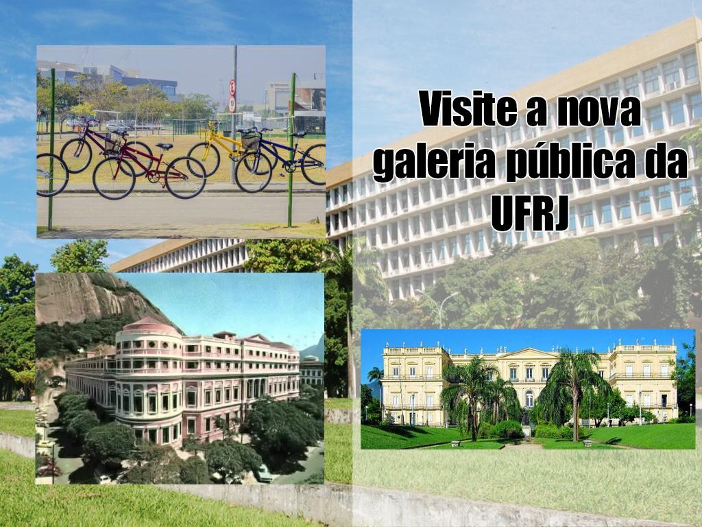 Detalhes da Nova galeria de arte pública no Rio de Janeiro