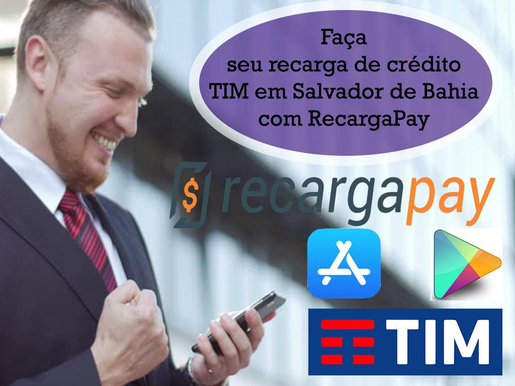 Aplicativo de recarga de crédito