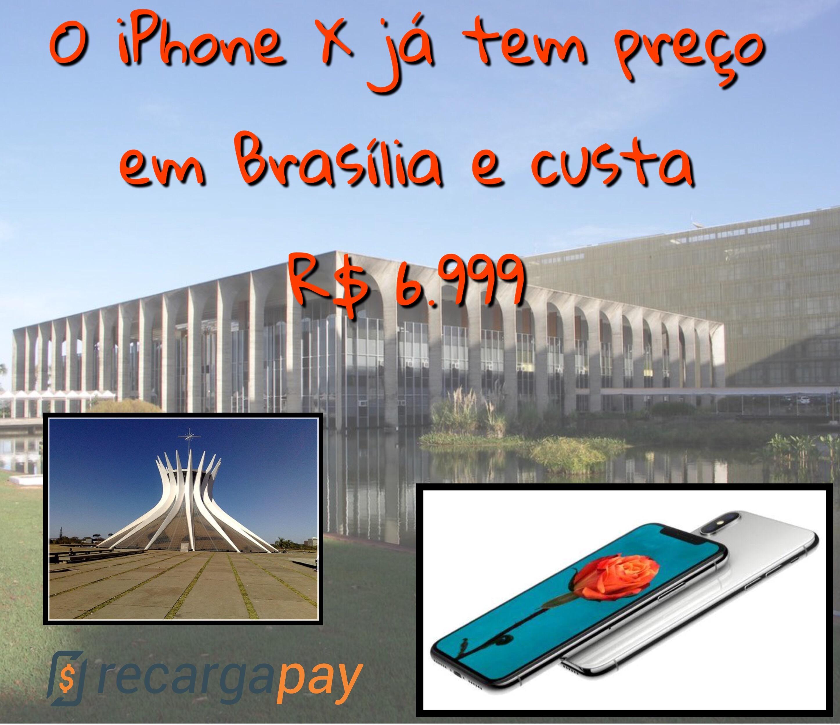 iphone x em brasília