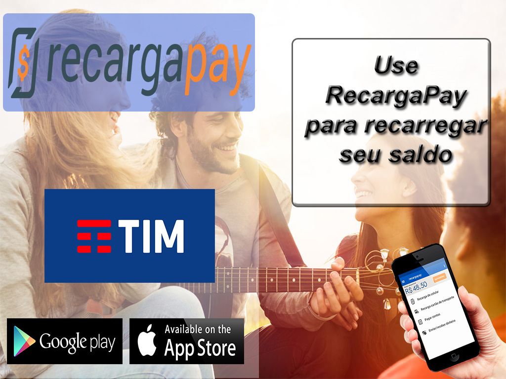 Use RecargaPay para recarregar seu saldo