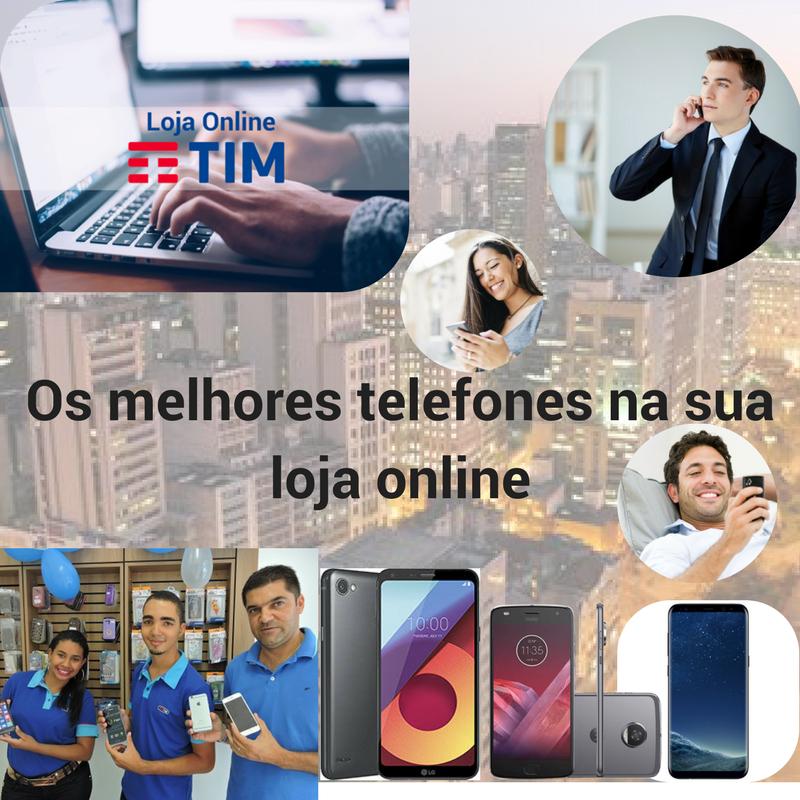 conhece a loja online TIM