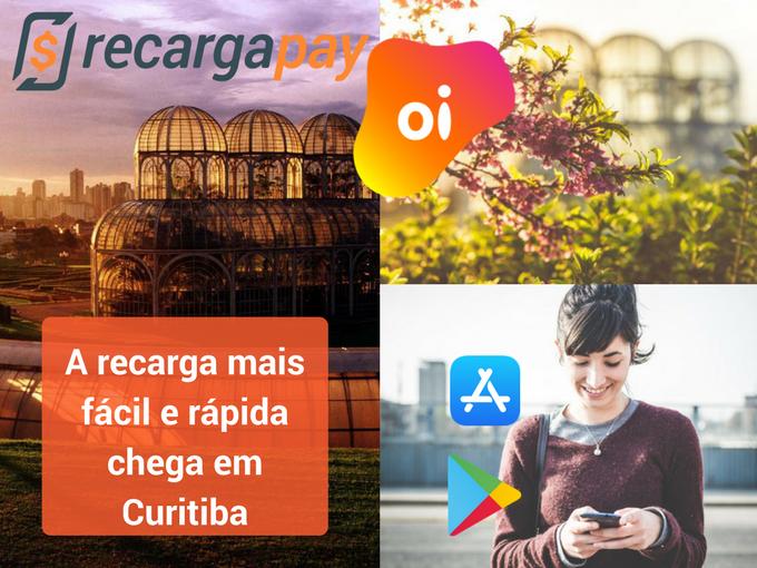 Recarga Oi chega em Curitiba com Recargapay