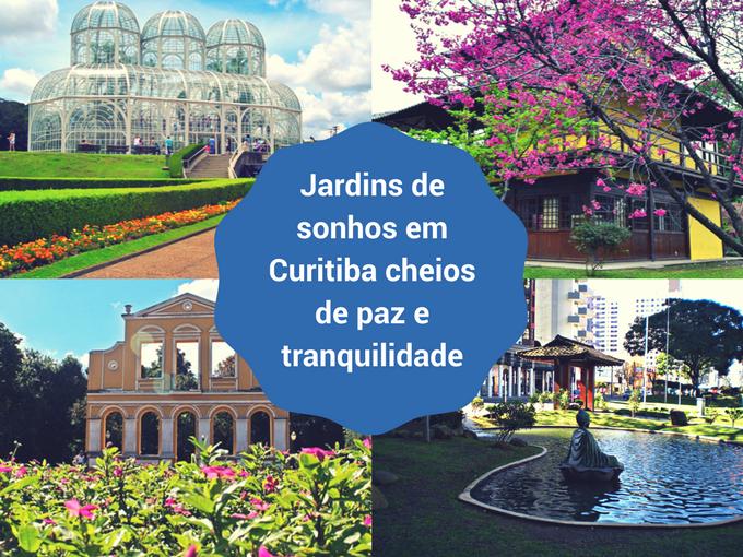 Curitiba uma cidade cheia de espaço para a natureza