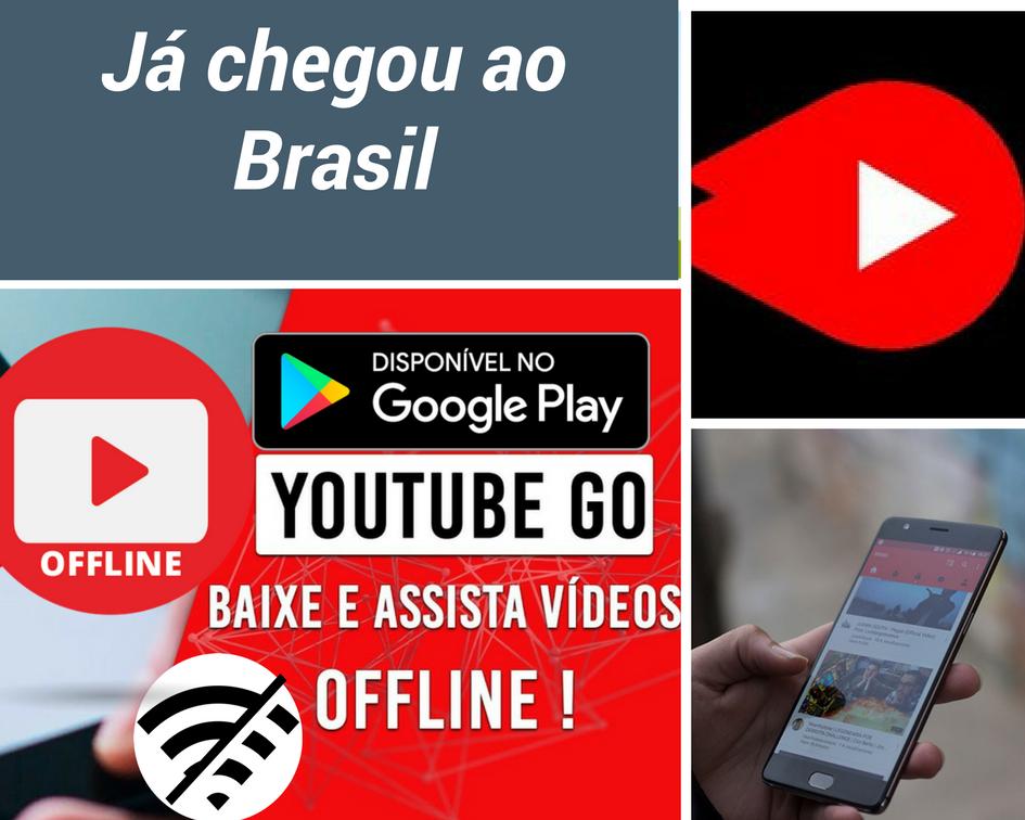 Yotube Go chegou ao Brasil