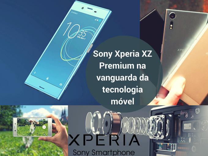 Novo Sony Xperia XS Premium com uma série de tecnologias
