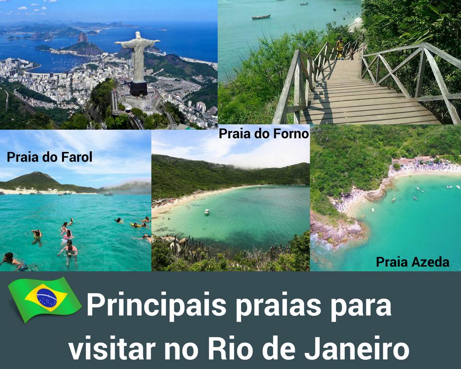 Melhores praias no Rio de Janeiro