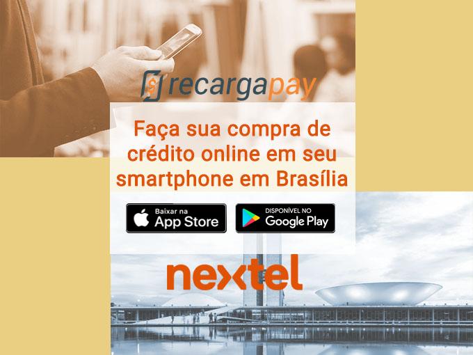 Compra crédito Nextel em Brasília