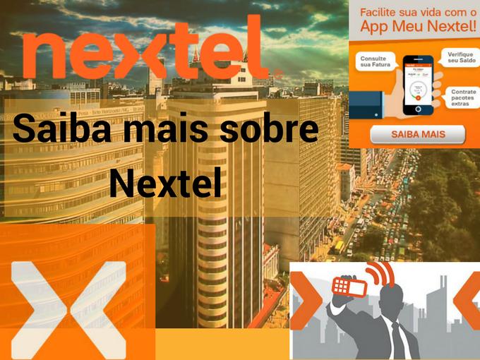 Saiba mais sobre a empresa Nextel