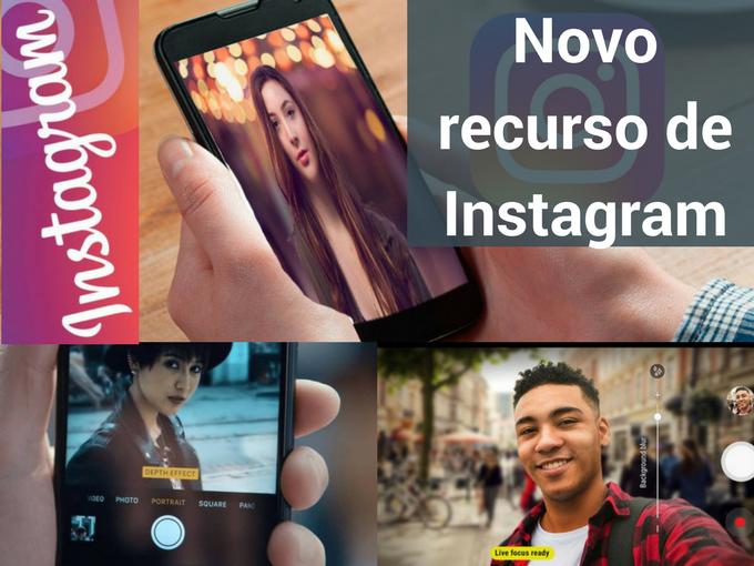 Novo recurso da Instagram