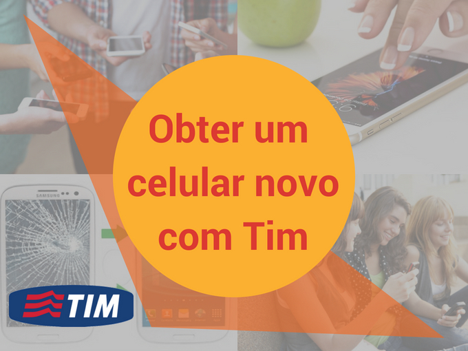 Obter um novo celular com Tim