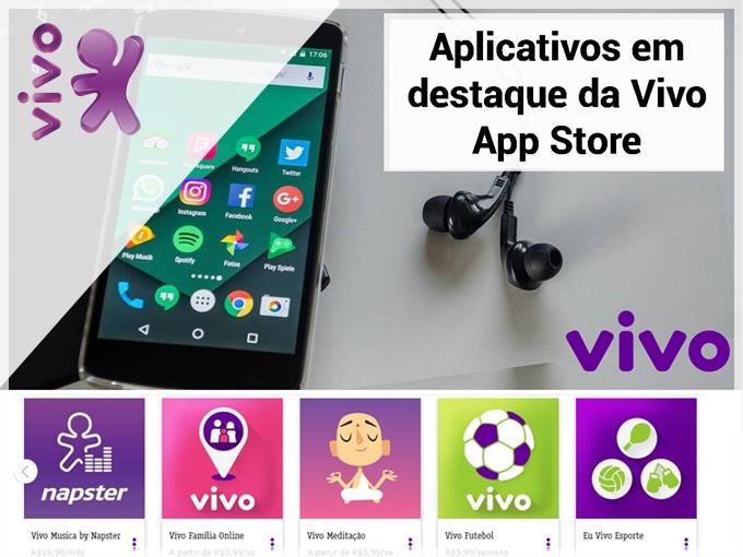5 aplicativos em destaque da Vivo App Store