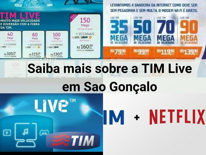 TIM Live em São Gonçalo