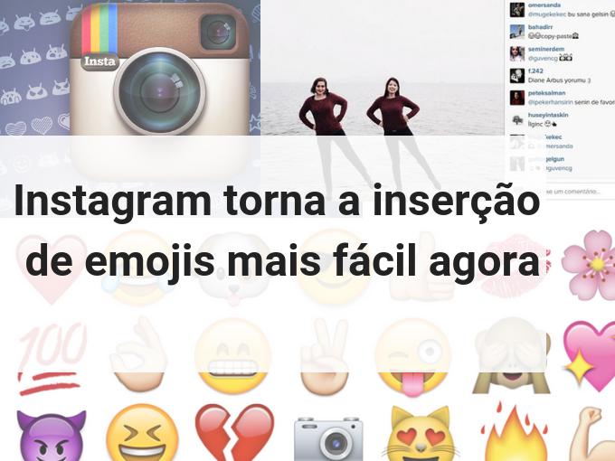 Inserir emojis no Instagram é muito fácil