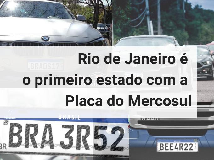 Placa do Mercosul