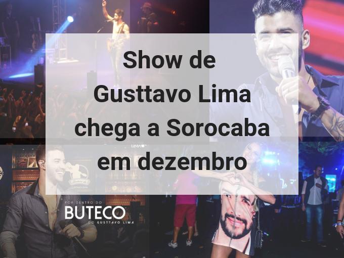 Show de Gusttavo Lima em Sorocaba