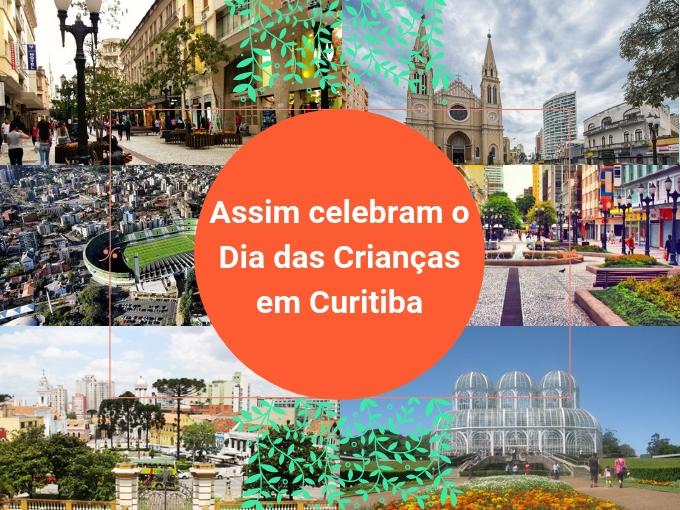 Assim celebram o Dia das crianças em Curitiba