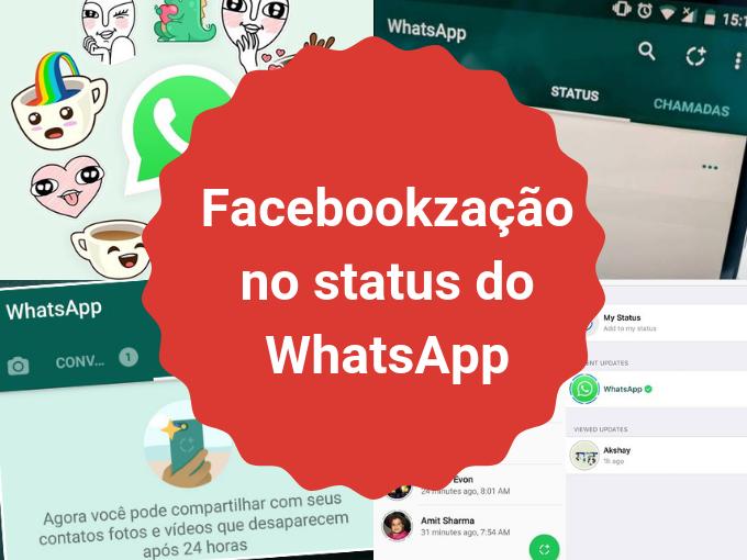 Facebookzação do WhatsApp