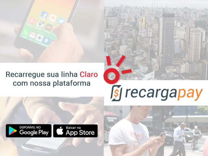 Aproveite o nosso aplicativo para recarregar sua linha Claro