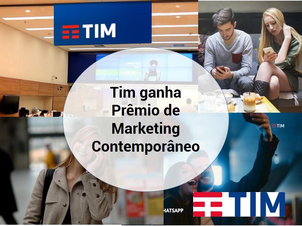 Tim recebe Prêmio de Marketing Contemporâneo