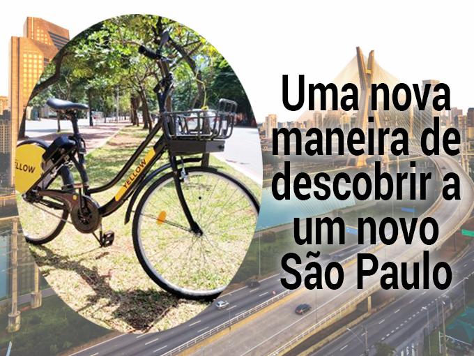 Bicicletas elétricas compartilhadas são a nova proposta para descobrir São Paulo