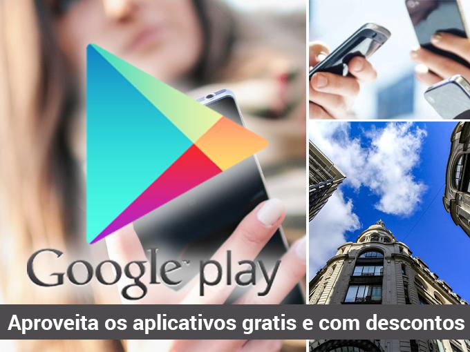 Google Play Store promove novos aplicativos e jogos gratuitos e com desconto