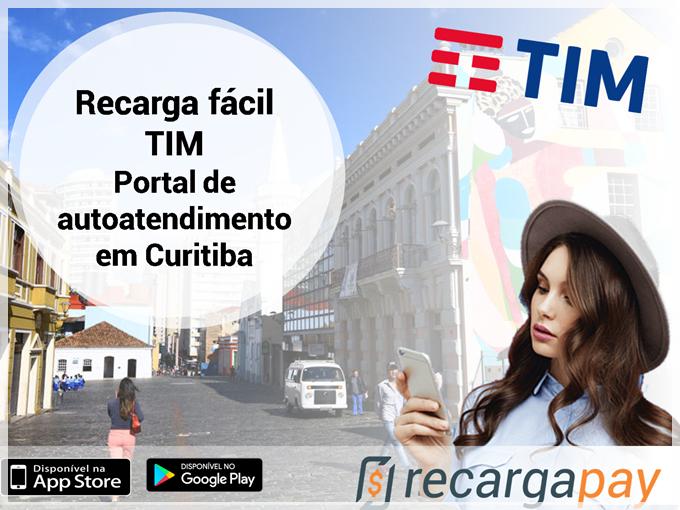 Recarga facil TIM - Portal de autoatendimento em Curitiba