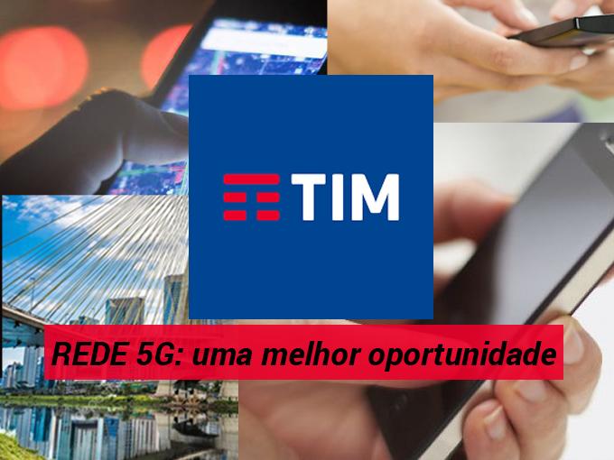 TIM: rede 5G é uma oportunidade para São Paulo