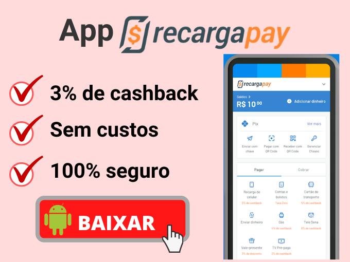 App RecargaPay tem muitos benefícios