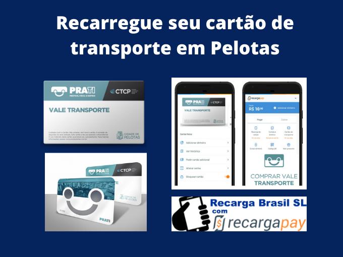 Recarregue seu cartão de transporte em Pelotas