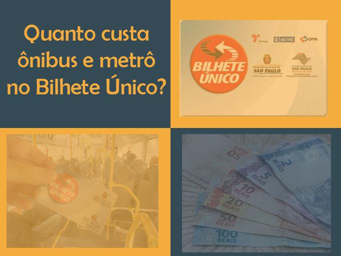 Quanto custa ônibus e metrô?