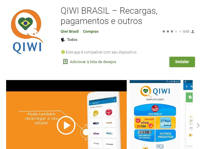 Recarregue URBS com Qiwi Brasil