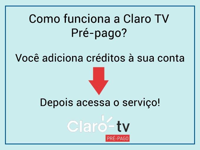 como funciona Recarga claro tv prépago